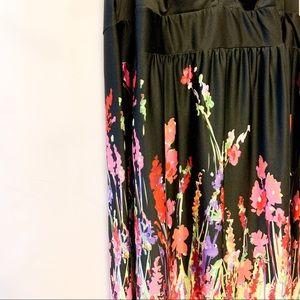 Gorgeous Silky Floral Maxi Dress